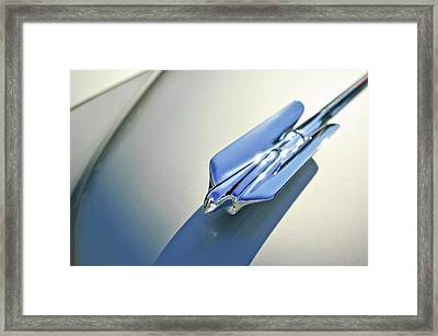 1947 Cadillac Hood Ornament 3 Framed Print by Jill Reger