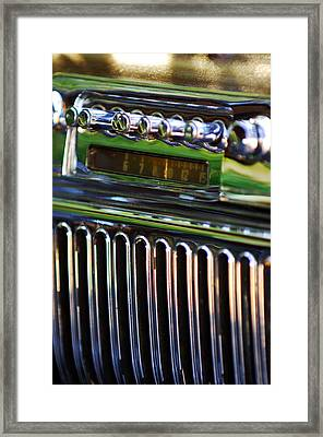1947 Cadillac Model 62 Coupe Radio Framed Print