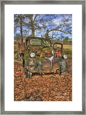 1947 Dodge Dump Truck Framed Print