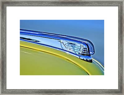 1947 Ford Super Deluxe Hood Ornament 2 Framed Print by Jill Reger