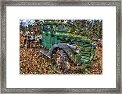 1947 Gmc Truck General Motors Truck Art Framed Print