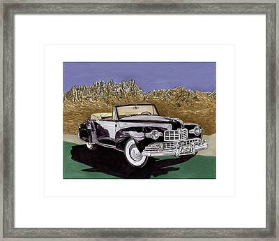 1947 Lincoln Continental Mk I Framed Print by Jack Pumphrey
