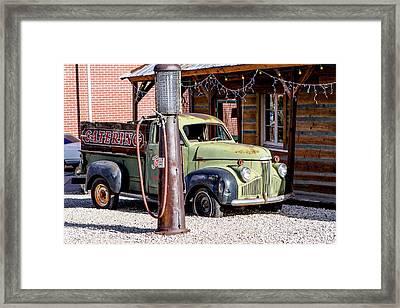 1947 Studebaker M-5 Pickup Truck Framed Print