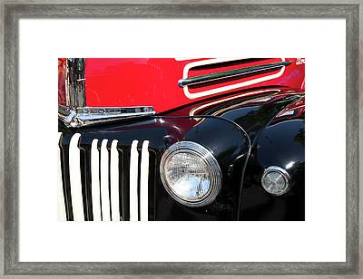 1947 Vintage Ford Pickup Truck Framed Print by Theresa Tahara