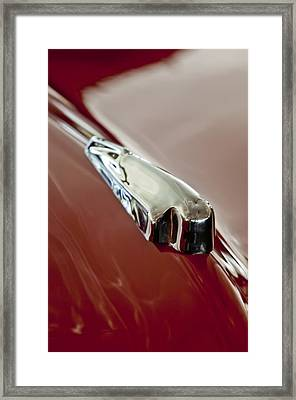 1948 Crosley Convertible Hood Ornament Framed Print by Jill Reger