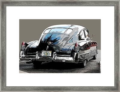 1948 Fastback Cadillac Framed Print