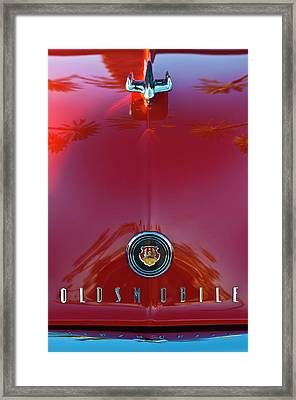 1948 Oldsmobile Hood Ornament 2 Framed Print by Jill Reger