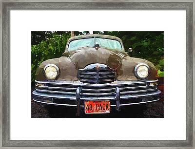 1948 Packard Super 8 Touring Sedan Framed Print