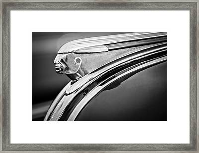 1948 Pontiac Chief Hood Ornament 2 Framed Print by Jill Reger