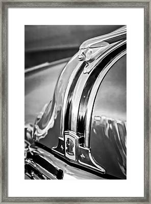 1948 Pontiac Chief Hood Ornament 4 Framed Print