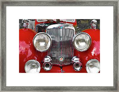 1948 Triumph 1800 Roadster Framed Print by Jack R Perry