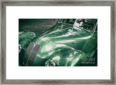 1949 Bristol 400 Classic Car Framed Print by Tim Gainey
