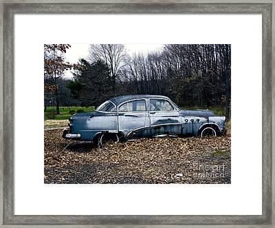 1949 Buick Roadmaster Framed Print by Gena Weiser