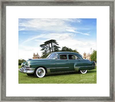 1949 Cadillac Fleetwood Framed Print by Tim Gainey