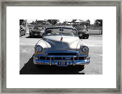 Compas Car Club Framed Print