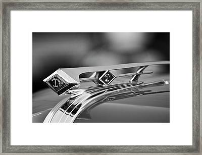 1949 Diamond T Truck Hood Ornament 4 Framed Print by Jill Reger