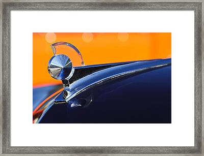 1949 Ford Hood Ornament 5 Framed Print by Jill Reger