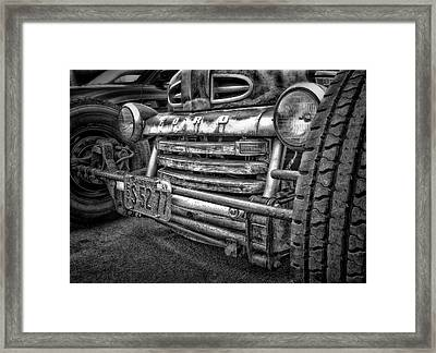 1949 Ford Framed Print by Larry Marshall