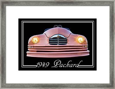 1949 Packard Framed Print