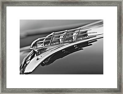 1949 Plymouth Hood Ornament 2 Framed Print