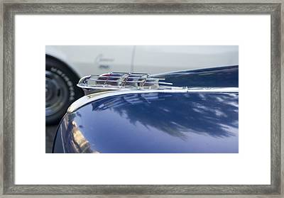 1949 Plymouth Super Deluxe Framed Print by Cathy Anderson
