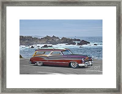 1950 Buick Custom Woody Wagon I Framed Print