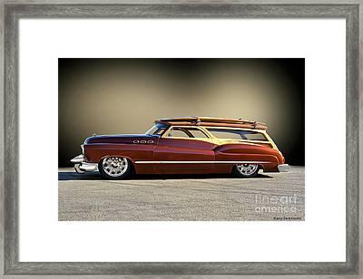 1950 Buick Custom Woody Wagon II Framed Print