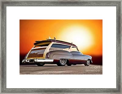 1950 Buick Custom Woody Wagon IIi Framed Print