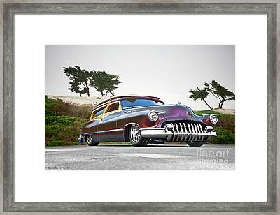 1950 Buick Custom Woody Wagon Ix Framed Print