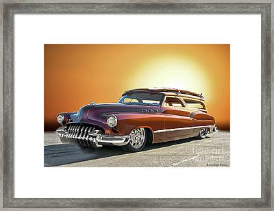 1950 Buick Custom Woody Wagon V Framed Print