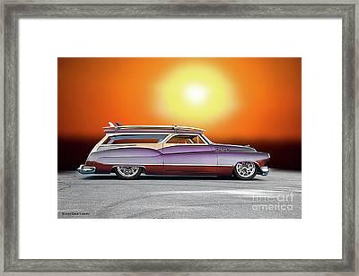 1950 Buick Custom Woody Wagon Vii Framed Print
