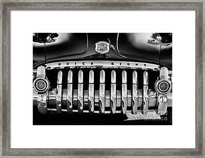 1950 Buick Eight Grille Framed Print by Tim Gainey