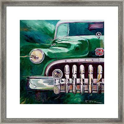 1950 Buick Roadmaster Framed Print by Ron Patterson