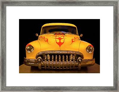 1950 Buick Sedanette Digital Oil Framed Print