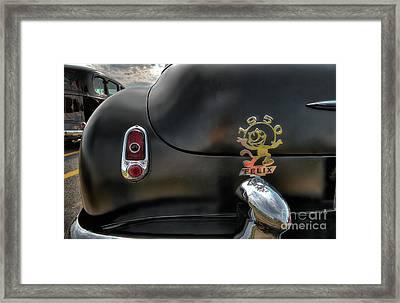1950 Chevrolet Framed Print by David B Kawchak Custom Classic Photography