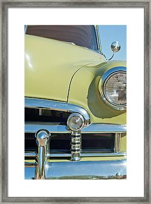 1950 Chevrolet Fleetline Grille Framed Print