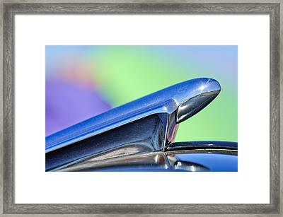 1950 Chevrolet Hood Ornament 3 Framed Print