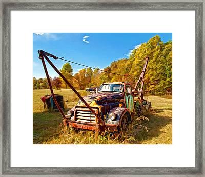 1950 Gmc Truck Framed Print
