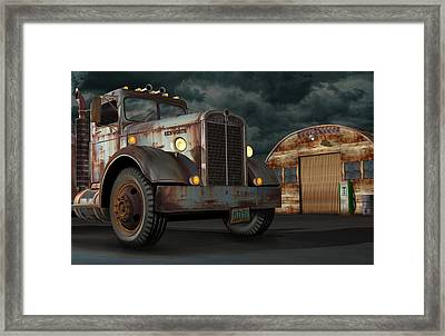 1950 Kenworth Framed Print