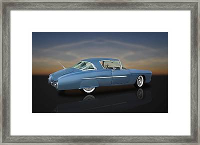 1950 Leo Lyons Ultra Modern Merc  -  50umm2-1 Framed Print by Frank J Benz