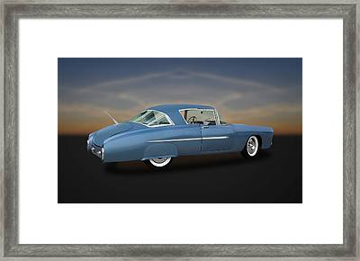 1950 Leo Lyons Ultra Modern Merc  -  50umm2-2 Framed Print by Frank J Benz