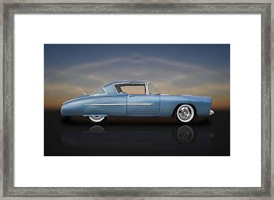 1950 Leo Lyons Ultra Modern Merc  -  50umm3-1 Framed Print by Frank J Benz
