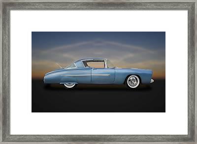 1950 Leo Lyons Ultra Modern Merc  -  50umm3-2 Framed Print by Frank J Benz