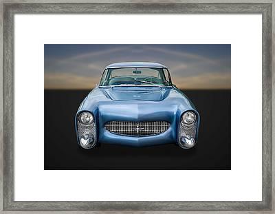 1950 Leo Lyons Ultra Modern Merc  -  50umm4 Framed Print by Frank J Benz