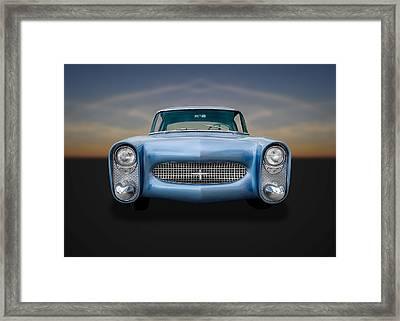1950 Leo Lyons Ultra Modern Merc  -  50umm5 Framed Print by Frank J Benz