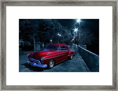 1950 Olds Ninety-eight Framed Print