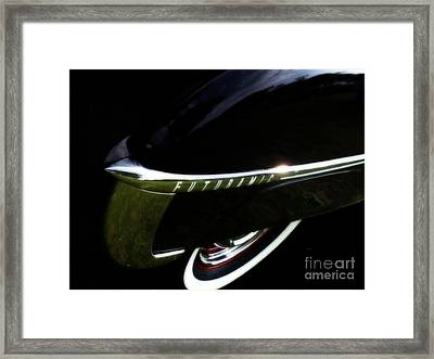 1950 Oldsmobile Futuramic 88 - Rocket Launcher Framed Print