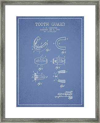 1950 Tooth Guard Patent Spbx16_lb Framed Print