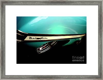 1950s Chevy Bel Air Framed Print by Steven Digman