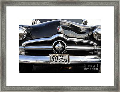 1950s Ford Framed Print by David Lee Thompson